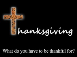 Do You Have Anything To be Thankful For?