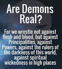 Are Demons Real? – Just look in your mirror!