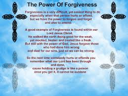 The Power of Forgiveness: Releasing Gods Power